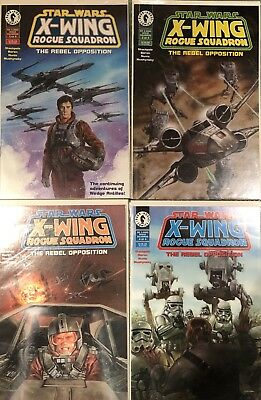 STAR WARS X-WING Rogue Squadron The Rebel Opposition 1-4 Dark Horse