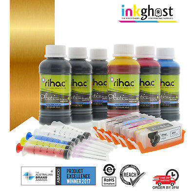 Refillable Ink Cartridges for Canon PGI-250 CLI-251 IP8720 MG6320 MG7120 MG7520
