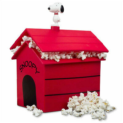 PEANUTS Snoopy POPCORN MAKER Speedy-Pop Microwave Silicone House Fun Organic RED