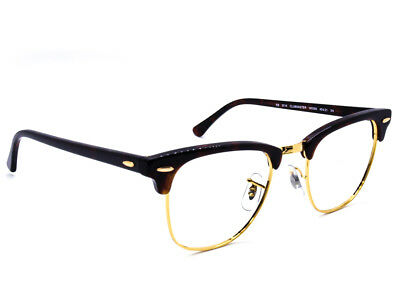 RAY BAN SUNGLASSES Clubmaster RB3016 W0366 Tortoise Gold Frames ...