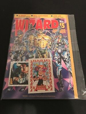 Wizard The Guide to Comics No 15 November 1992 FACTORY SEALED