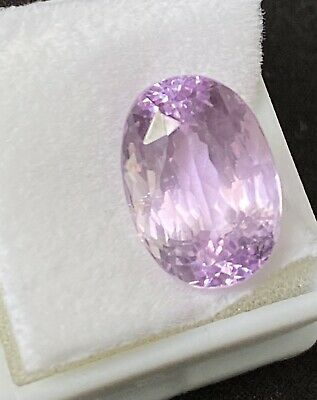 Afghan Kunzite Oval Cut 6.65 ct Beautiful Rich Top Color!