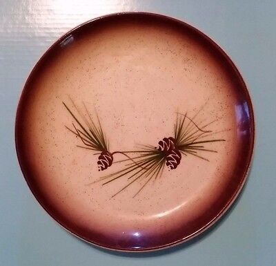 (1) VINTAGE 1950s ROMCO Rocky Mountain Pottery Salad Plate