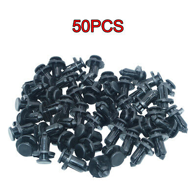 50x 10mm Bumper Engine Cover Fender Grille Clips fit for Subaru Forester Legacy