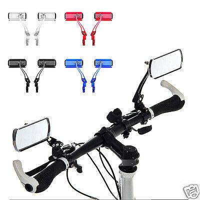 Cycling riding Bike Mirror Mountain Bicycle Rearview Handlebar Rear Back View