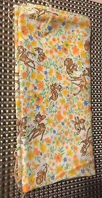 Vintage Walt Disney Bambi Fabric ADORABLE and SOFT!