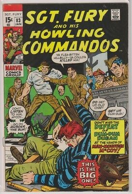 Sgt. Fury and His Howling Commandos 83 F/VF