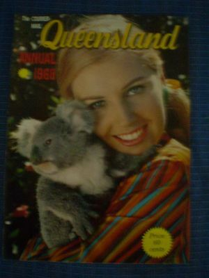 Vintage THE COURIER MAIL QUEENSLAND ANNUAL 1968 MAGAZINE