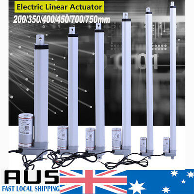 Linear Actuator Motor 12V 1500N 200 350 400 450 700 750mm Electric Industry Lift