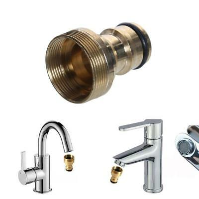 Tap Connector Kitchen Hose Universal Pipe Garden Fitting Adaptor Joiner Brass