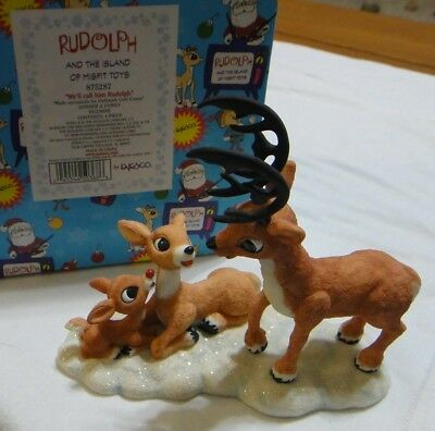 Enesco Rudolph Island of Misfit Toys Well Call Him Rudolph  875287, Rudolph