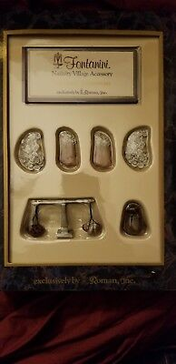 "Fontanini ""currency Accessories"" New In Box As Pictured"