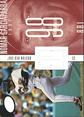 1998 SPx Finite Spectrum Red Sox Baseball Card #231 Nomar Garciaparra PP /1750