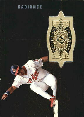 1998 SPx Finite Radiance Indians Baseball Card #153 Manny Ramirez SF /3500