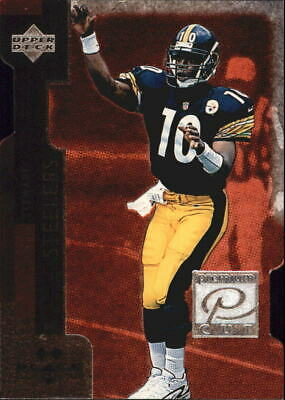 1998 Black Diamond Premium Cut Double Football Card #PC15 Kordell Stewart