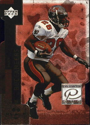 1998 Black Diamond Premium Cut Double Football Card #PC27 Warrick Dunn