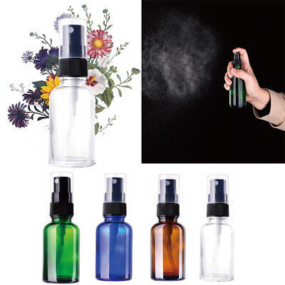 30/60ml/120ml Transparent Glass Perfume Atomizer Empty Spray Bottle Portable