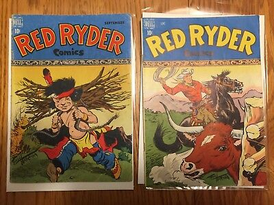 red Ryder comics # 59 vg/vg+ and 62 solid good