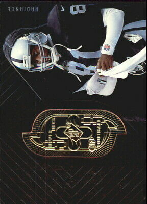 1998 SPx Finite Radiance Oakland Raiders Football Card #61 Tim Brown/3800