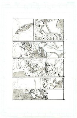 Unity issue 11 Ninjak page  by Stephen Segovia