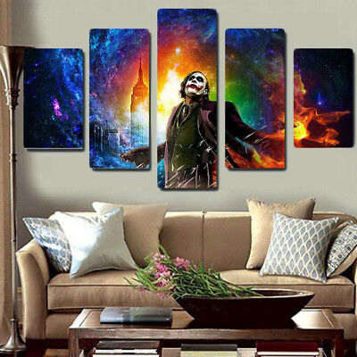 NEW Pictures Oil Painting Home Household Office 5Pcs/Set Art Ornament Gift