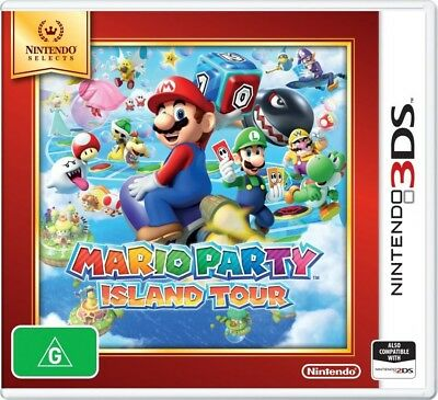 3DS Nintendo Selects Mario Party: Island Tour