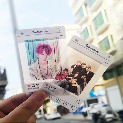 Kpop BTS Love Yourself Idol Clear PVC Photo Card JUNG KOOK SUGA V Photocard 8pcs