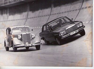 Mercedes-Benz 260D (1935) and 300D       PHOTO