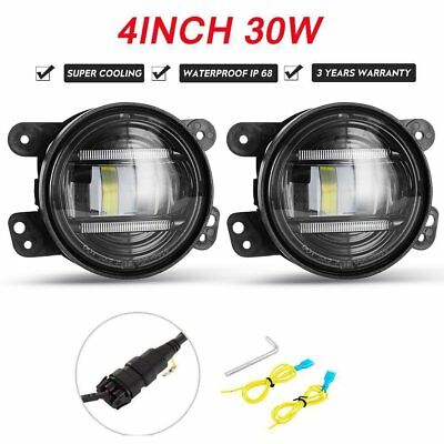 Pair 30W ARB Bullbar CREE LED DRL Fog Lights Headlights Driving Lamp 4×4 Truck