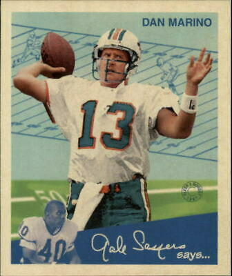 1997 Fleer Goudey II Football Card #13 Dan Marino