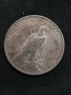 1922 United States Silver Peace Dollar