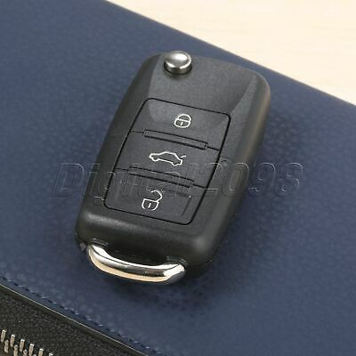 1Pc Remote Control Key 3 Buttons 434 MHz ID48 Chip Fit For Car 2006-2011 Jetta