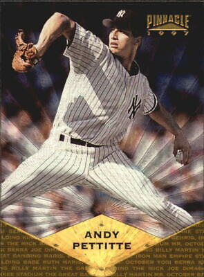 1997 (YANKEES) Pinnacle Museum Collection #14 Andy Pettitte