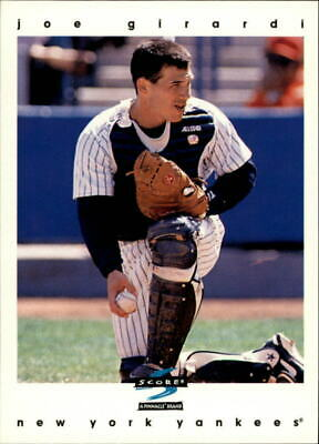 1997 Score New York Yankees Baseball Card 464 Joe Girardi