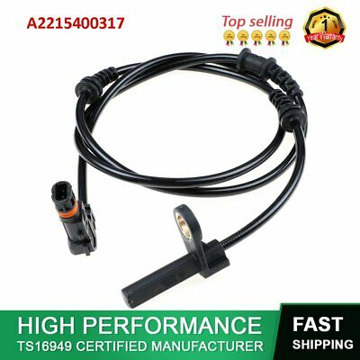 2215400317 ABS Wheel Speed Sensor For Mercedes Benz C216 W221 Front Left / Right