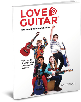 *Learn To Play Guitar Easy Beginners Book for Kids Children FREE online videos