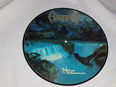 LP AMORPHIS * Tales from The Thousand Lakes * PIC-LP* 1994, ohne Hülle