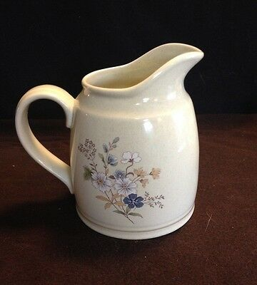 """Vintage English Royal Doulton Milk Pitcher """"fairford"""" Pattern Great Condition"""
