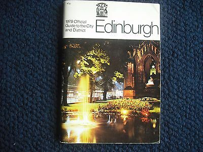 Official Guide To The City & District Of Edinburgh 1978