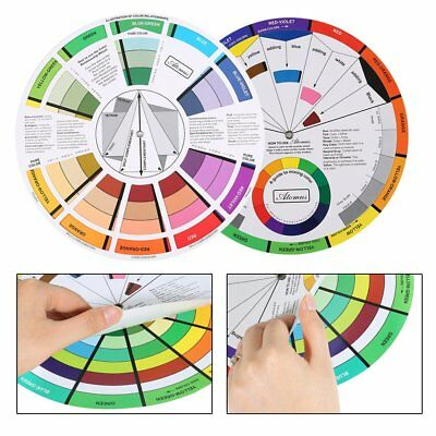 Color Wheel Tattoo Pigment Painting Mixing Guide for Amateur For Color Selection