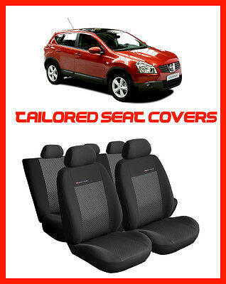 OUTLET #17 Seat covers  for NISSAN QASHQAI 2007 - 2013  Tailored seat covers