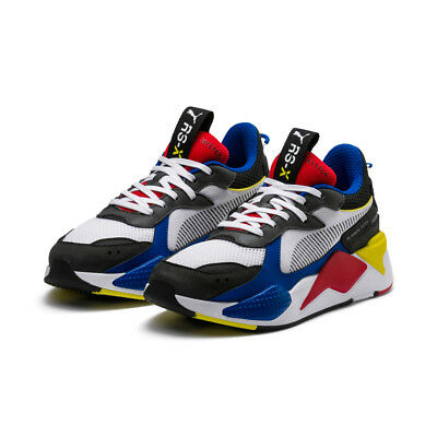 6305e72e346d59 PUMA RS-X TRANSFORMERS Pack Bumblebee Quiet Shade Yellow Grey Kids ...