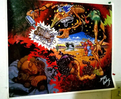 "Robert Williams ""Mirage of Daughterly Fears"" 1990 Poster Lowbrow Art Surrealism"