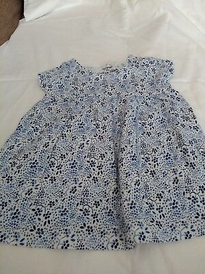 baby floral dress  3-6 months