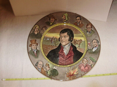 """Royal Doulton Large Plate Dickens D6344 10 1/2"""""""