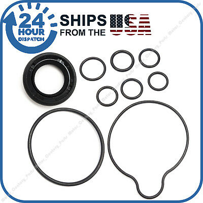 9 Pcs Power Steering Pump Seal Kit Fits Honda Accord Odyssey Pilot Acura Tl Mdx