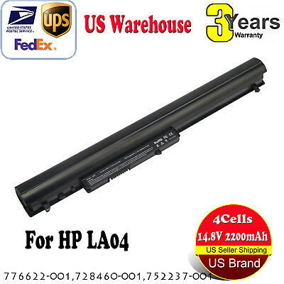 LA04 Laptop Battery for HP Spare 776622-001 728460-001 752237-001 (2200 mAh)