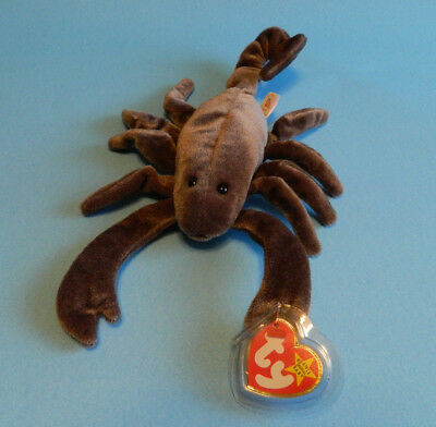 "Ty Beanie Babies ""STINGER"" The Scorpion 9/27/1997 MWMT BB332"