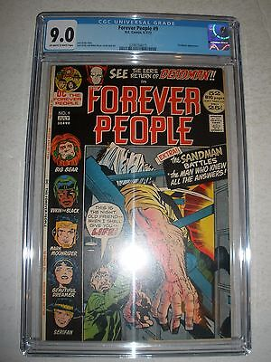 DC Comics the Forever People # 9 CGC 9.0