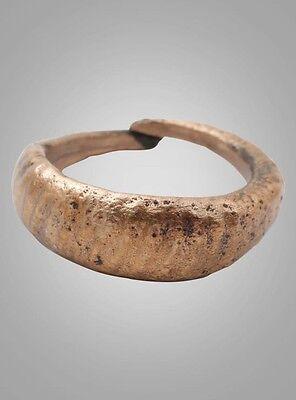 Ancient Viking Womans Wedding Band, Jewelry C.866-1067A.D. Size 5 3/4  (15.8mm)(